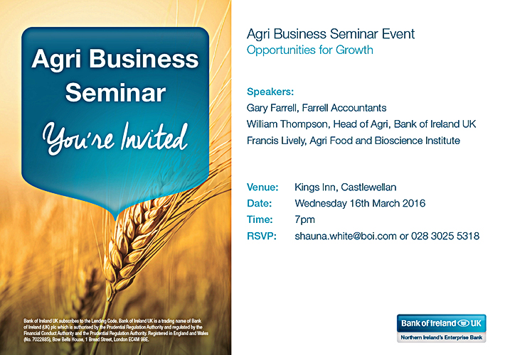 Agri Business Seminar 2016